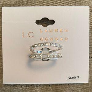 LC Lauren Conrad Ring Set